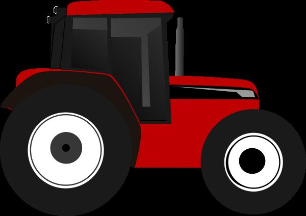 Red Tractor Clip Art at Clker.com.