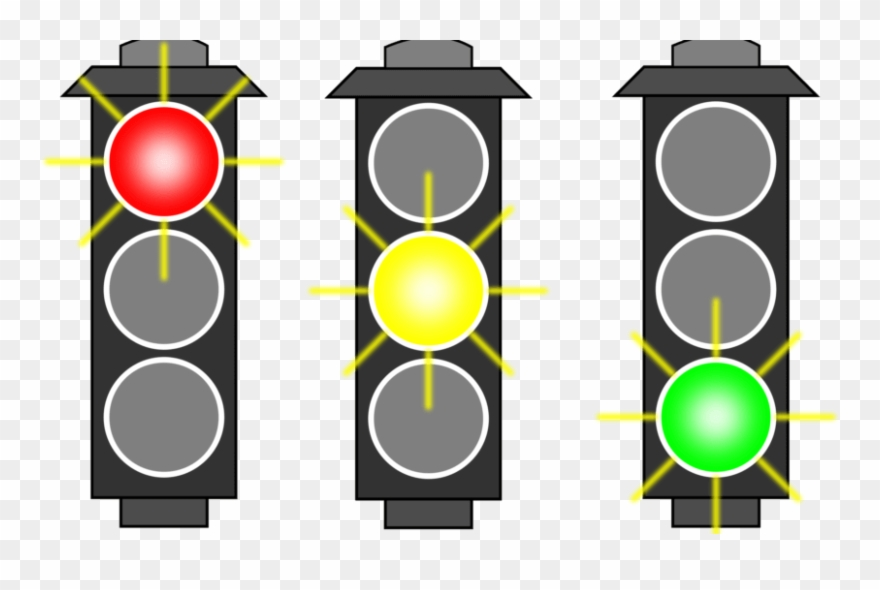 Free To Use Public Domain Traffic Light Clip Art.