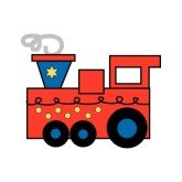 Red Train Clipart.
