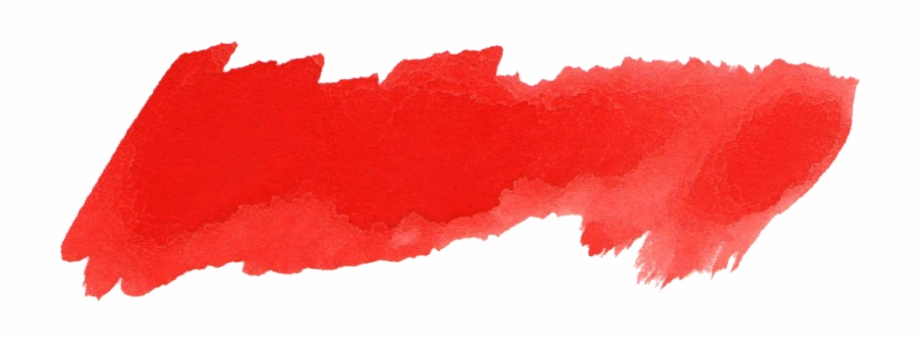 Red Brush Stroke Png.