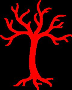 Red Dead Tree Clip Art at Clker.com.