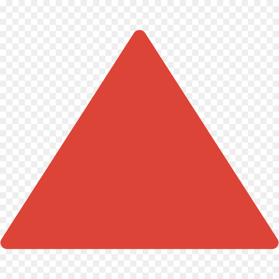 Download High Quality triangle clipart red Transparent PNG.