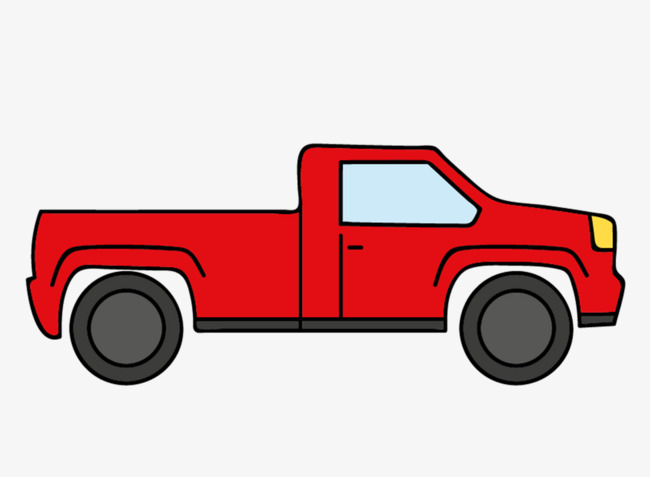 Red truck clipart 5 » Clipart Station.