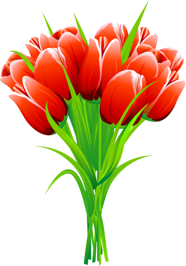 Tulips clipart - Clipground