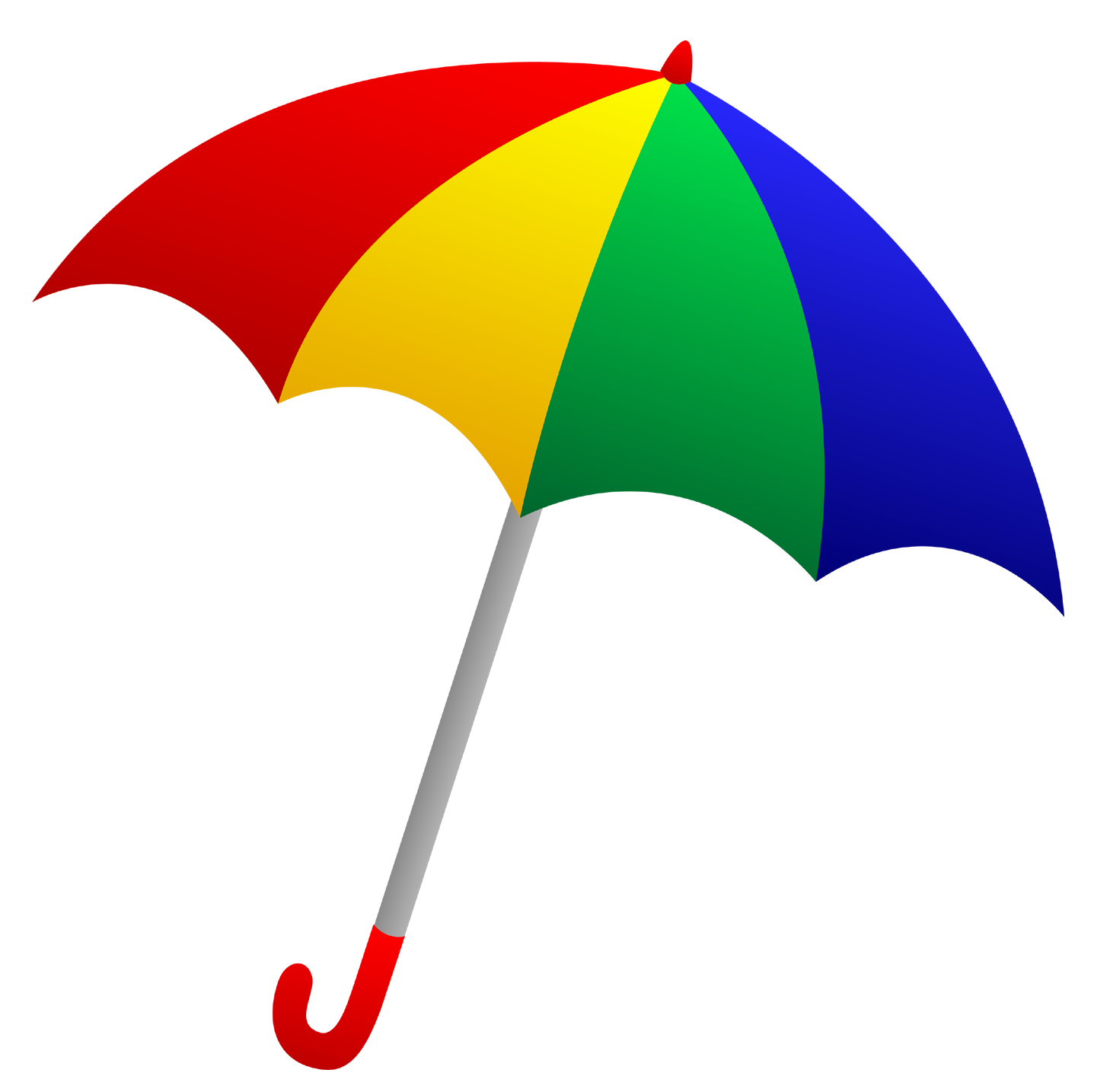 Transparent umbrella clipart.