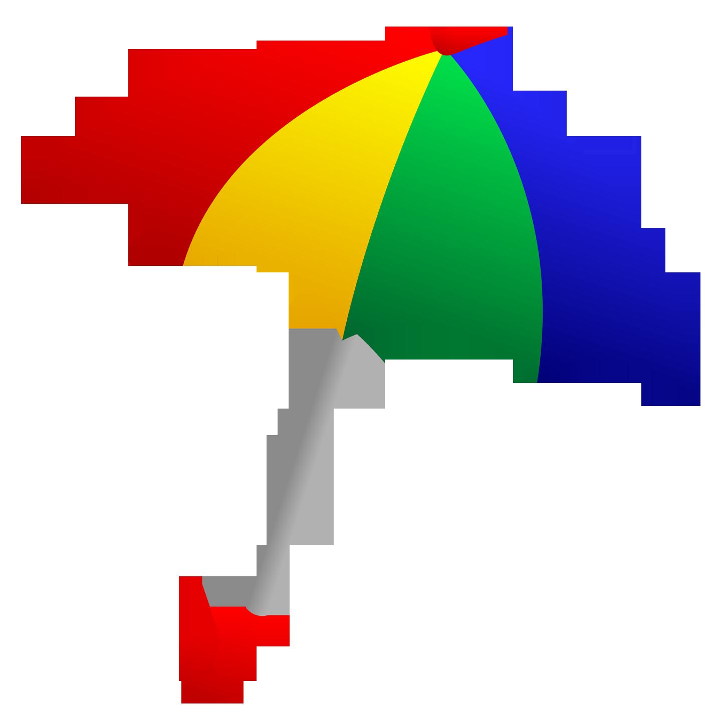 Transparent umbrella clipart.