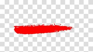 Red paint splatter illustration, Close.