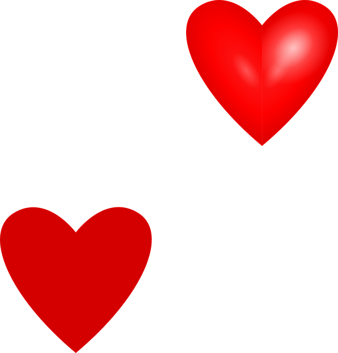 Red Valentine Hearts Clip Art DownloadClipart.