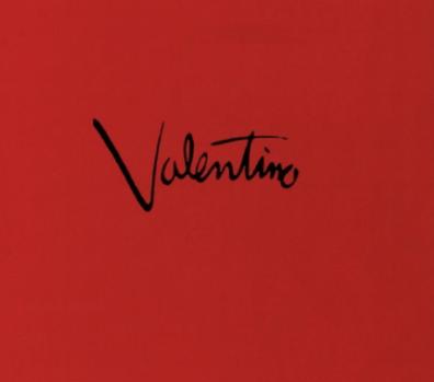 Valentino red.