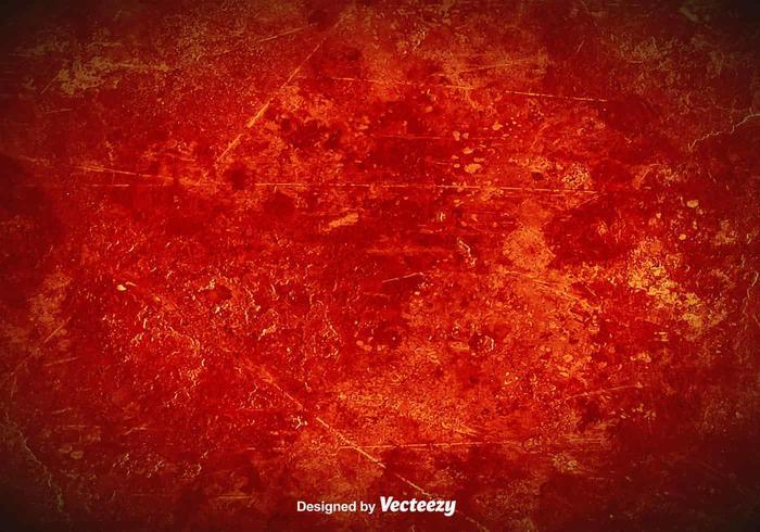Vector Red Grunge Background.