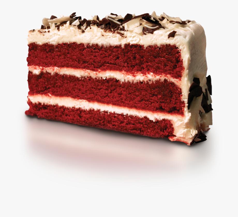 Red Velvet Cake Slice.