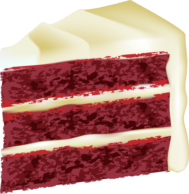 Download Free png pin Cake clipart red velvet c.