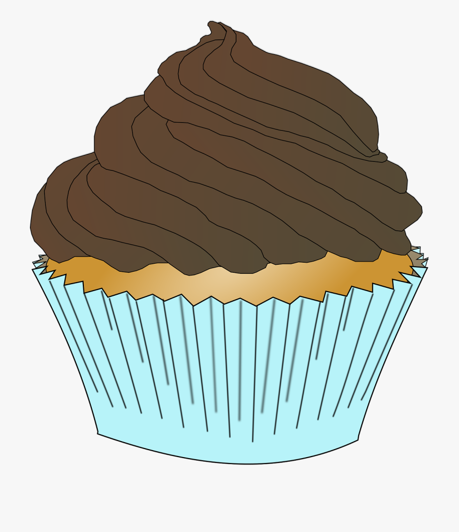 Chocolate Frosting Cupcake.