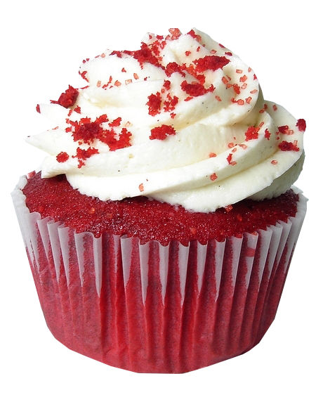Red velvet cake Cupcake Frosting & Icing Muffin Birthday.