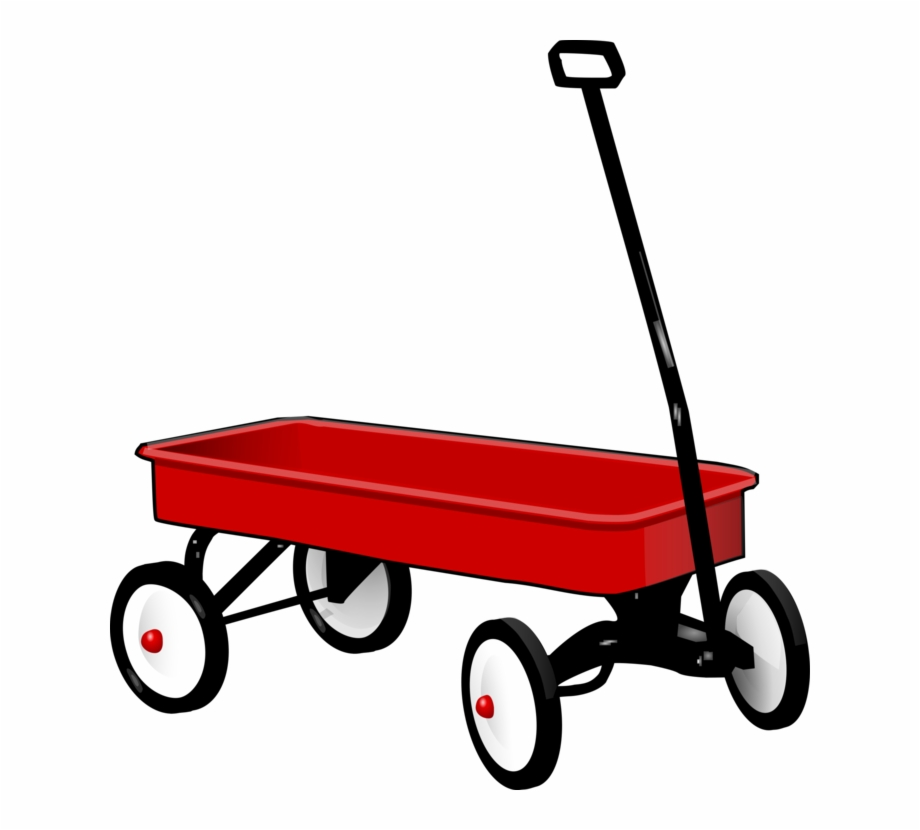 Covered Wagon Cart Radio Flyer Horse And Buggy.