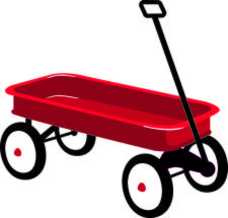 Red wagon clipart 4 » Clipart Station.
