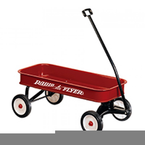 Free Clipart Red Wagon.