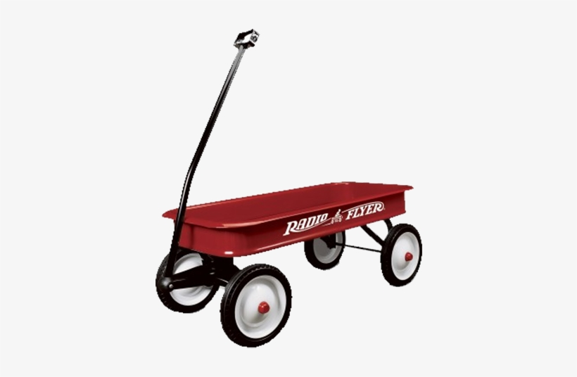 Radio Flyer Classic Red Wagon.