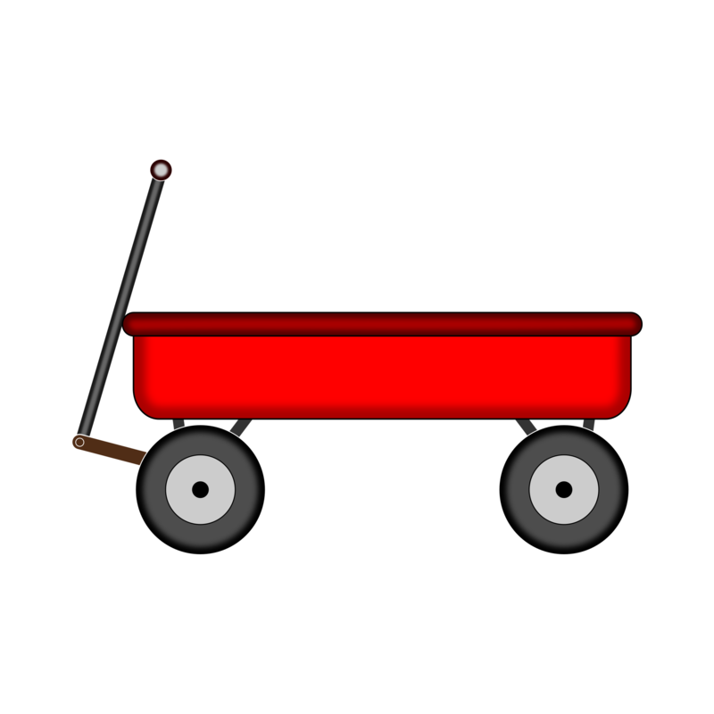 Download Free png Red Wagon by NiftyGaloot.