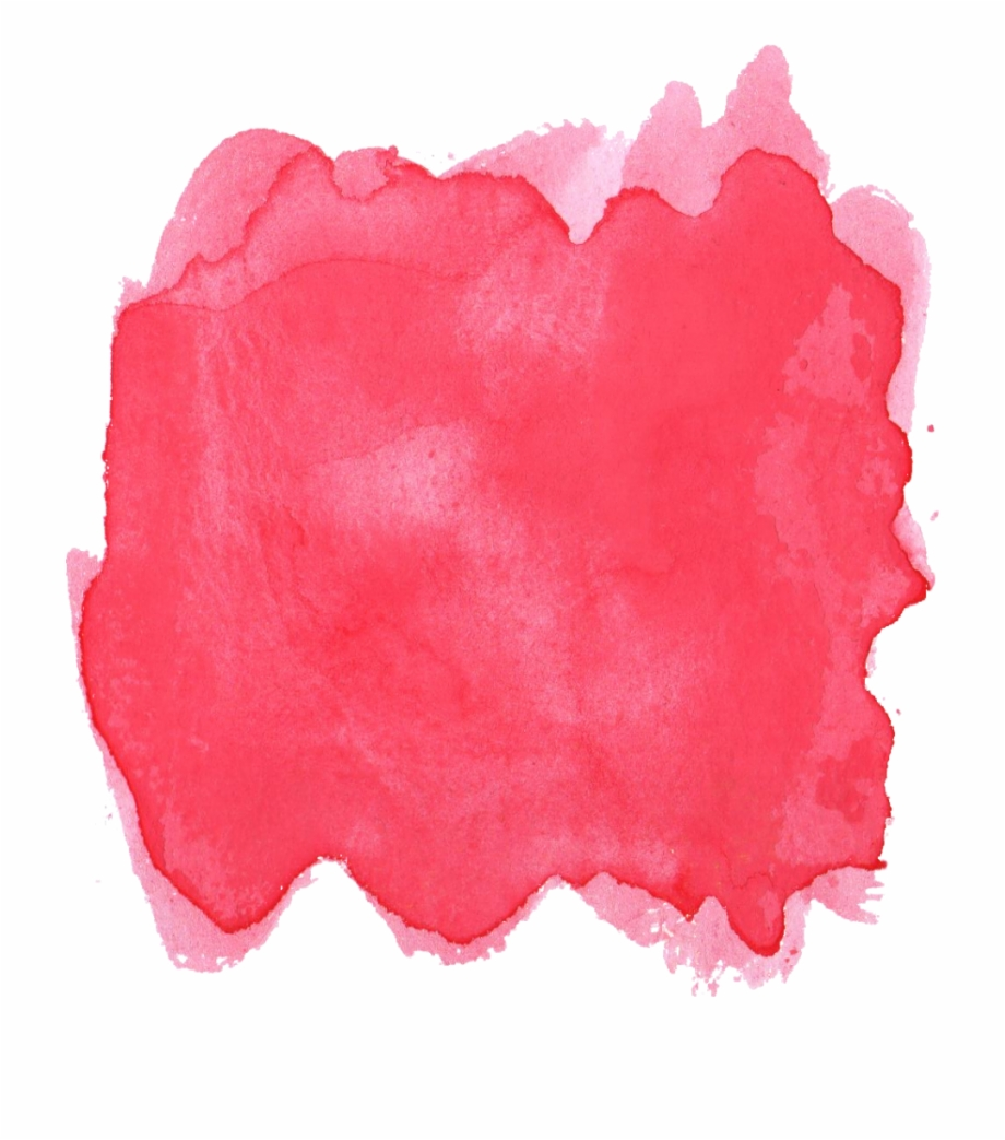 Red Watercolor Png.
