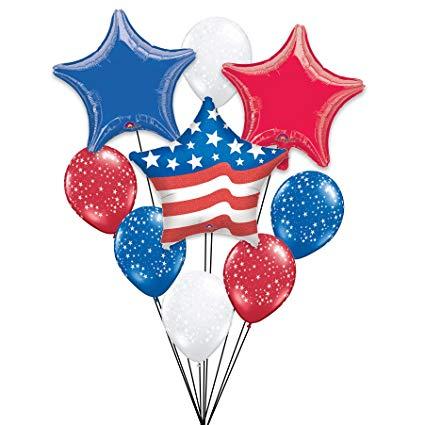 Amazon.com: Patriotic Stars & Stripes Celebration 10pc.
