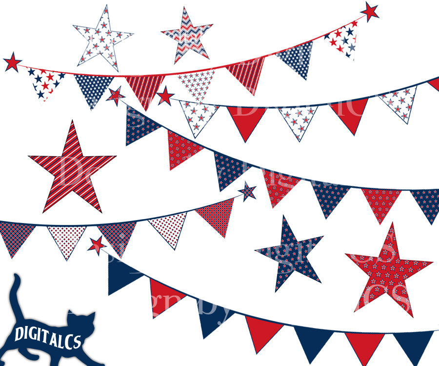 Free Patriotic Bunting Cliparts, Download Free Clip Art.