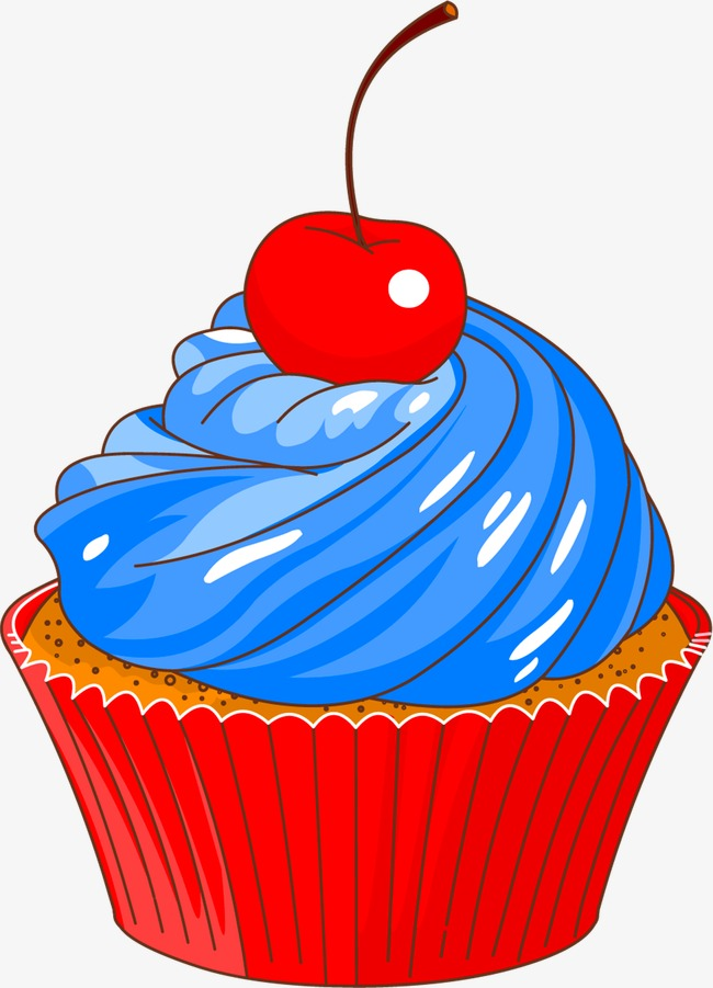 Red Cake Clipart.