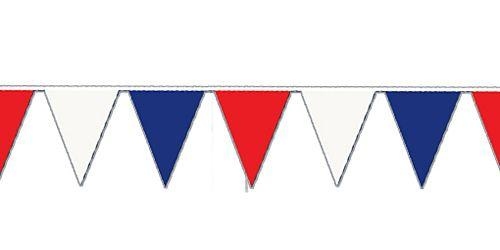Red White & Blue Outdoor Bunting.