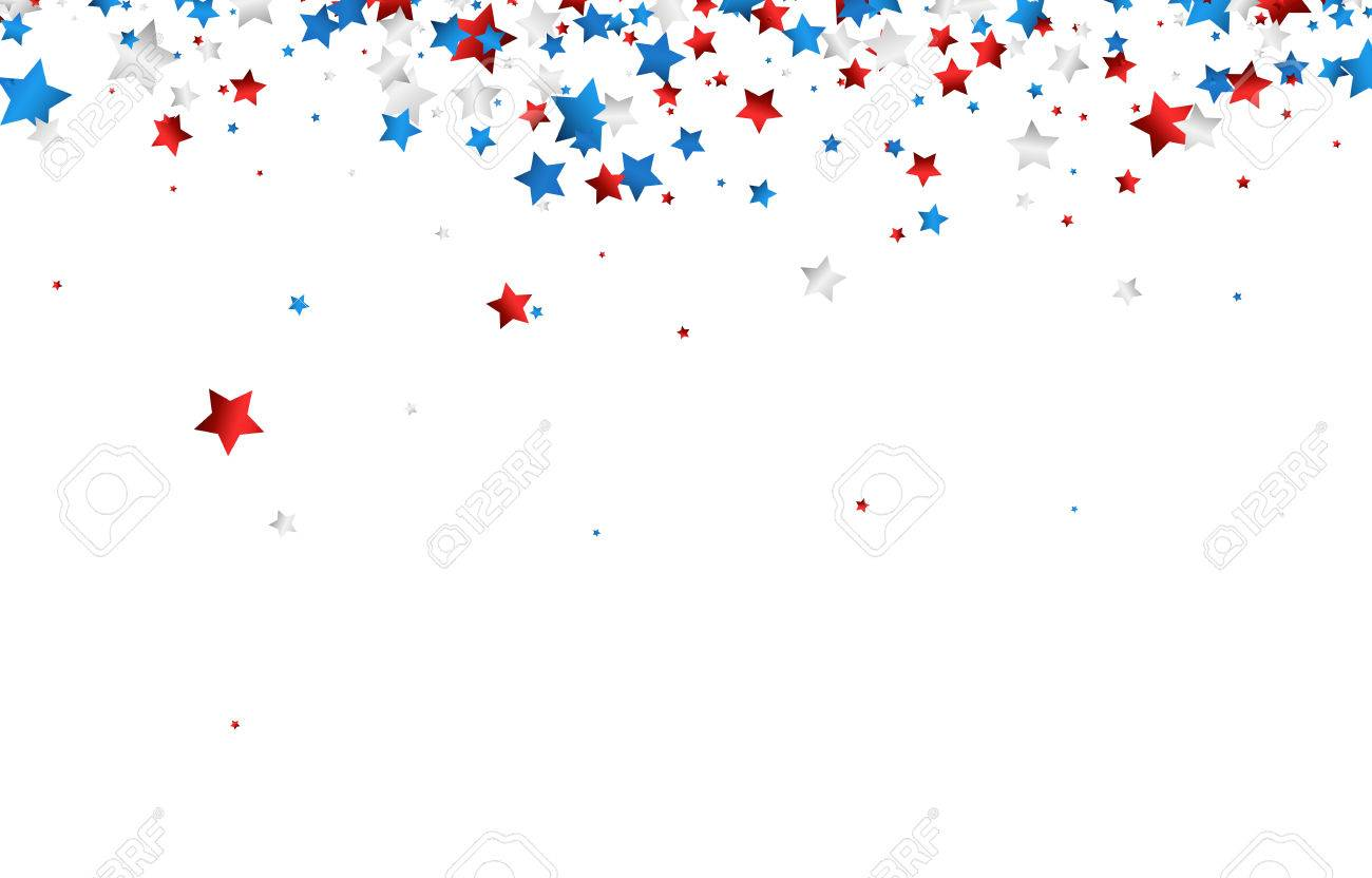 Red White And Blue Stars Clipart Free Download Clip Art.