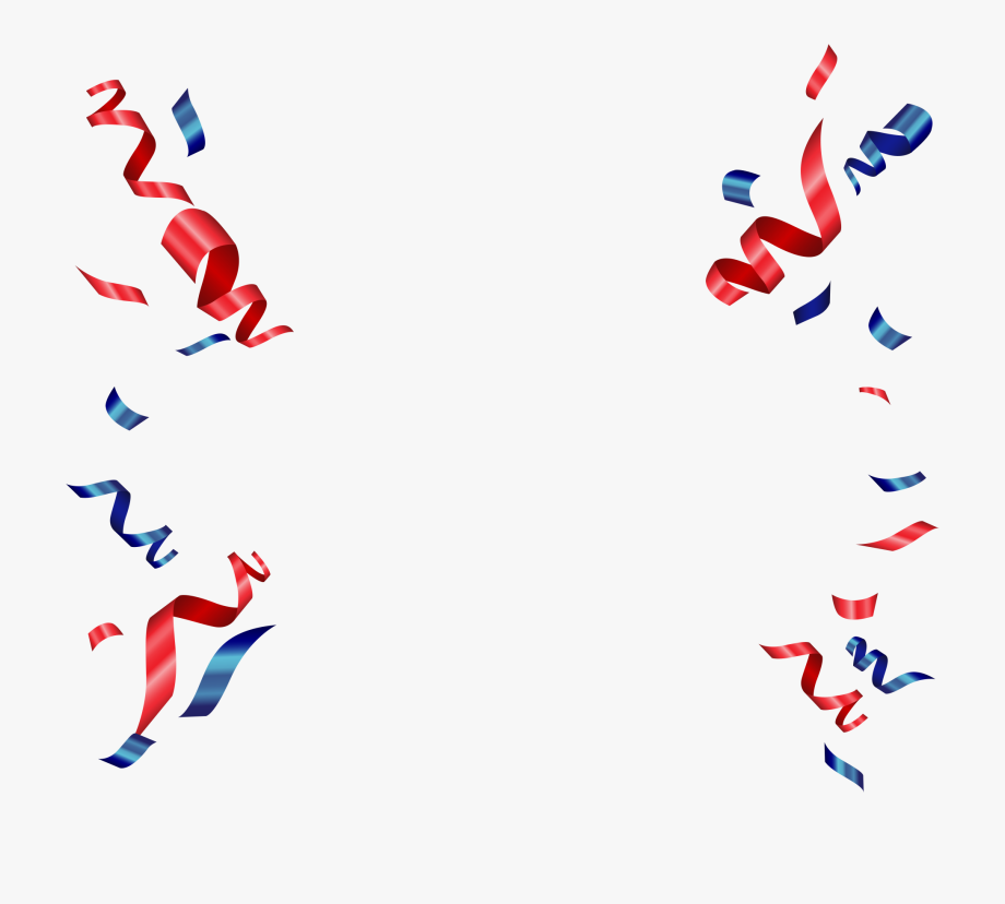 Red And Blue Confetti Png , Transparent Cartoon, Free.