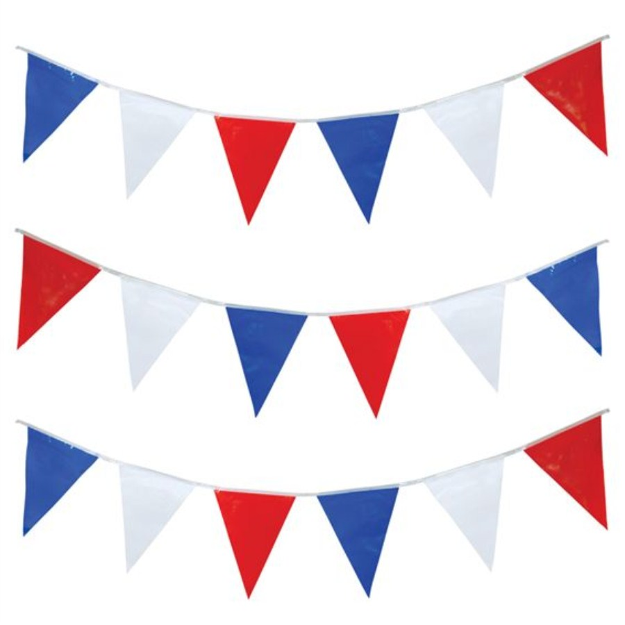 Red White And Blue Banner Clipart.