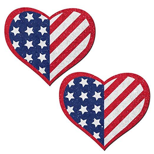 Amazon.com: Love: Glittering Patriotic USA Red, White & Blue.