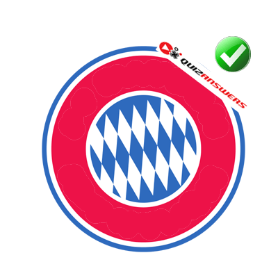 Red White and Blue Circle Logo.