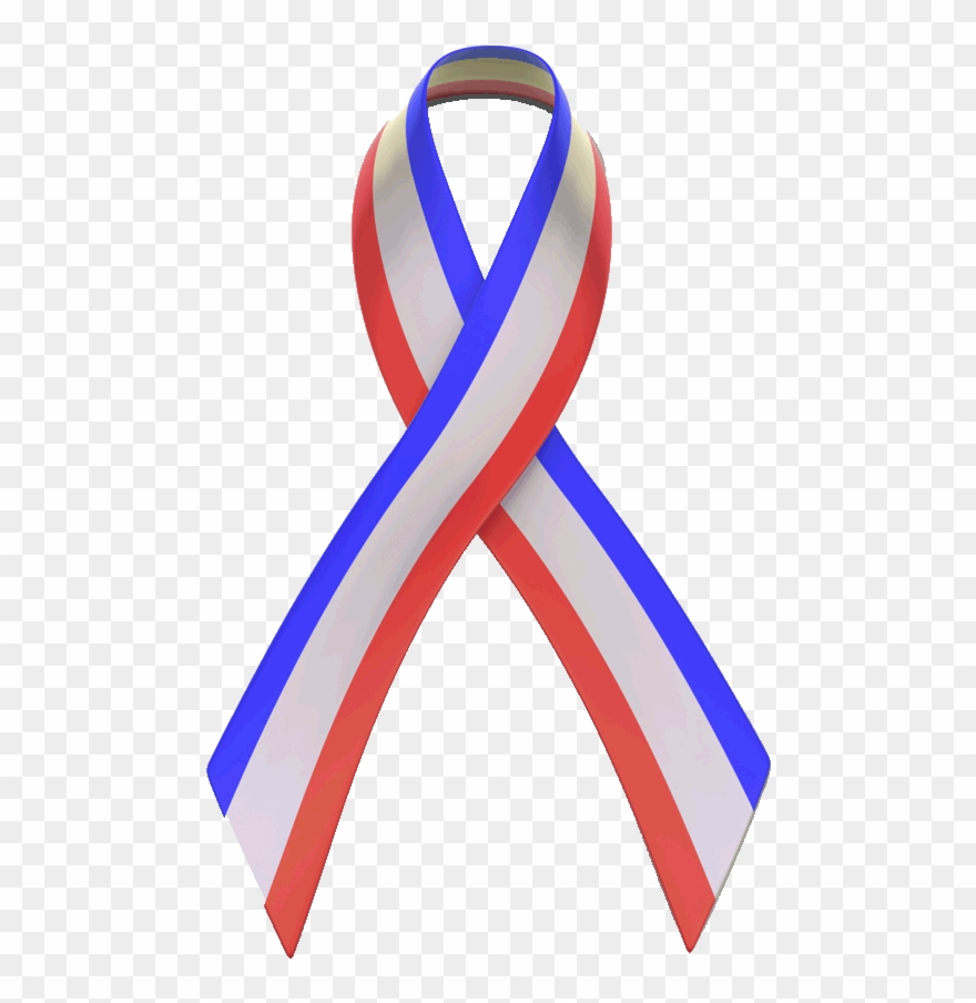 Red White And Blue Ribbon Clip Art.