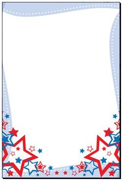 Printable red white and blue Paper.