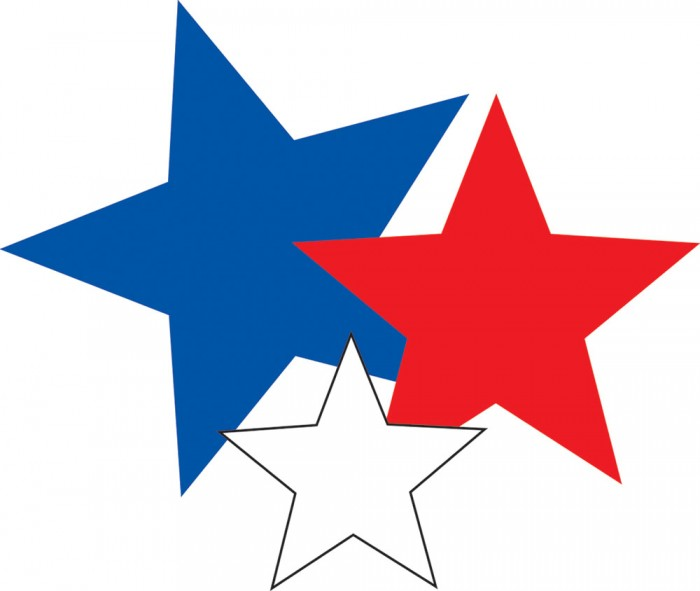 Red White And Blue Stars Png Image Vector, Clipart, PSD.