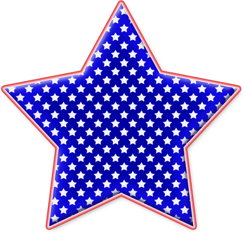 Red White And Blue Clipart.
