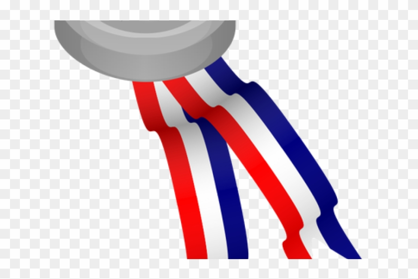 Red White Blue Ribbon Png, Transparent Png.