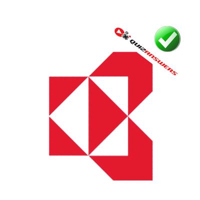 Red white Logos.