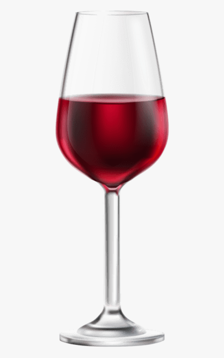 Glass With Red Drink Png.