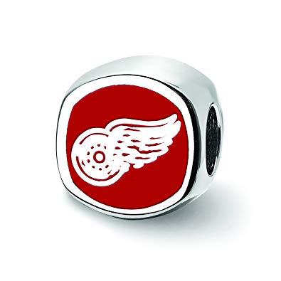 Amazon.com: Logoart Sterling Silver Detroit Red Wings Red.