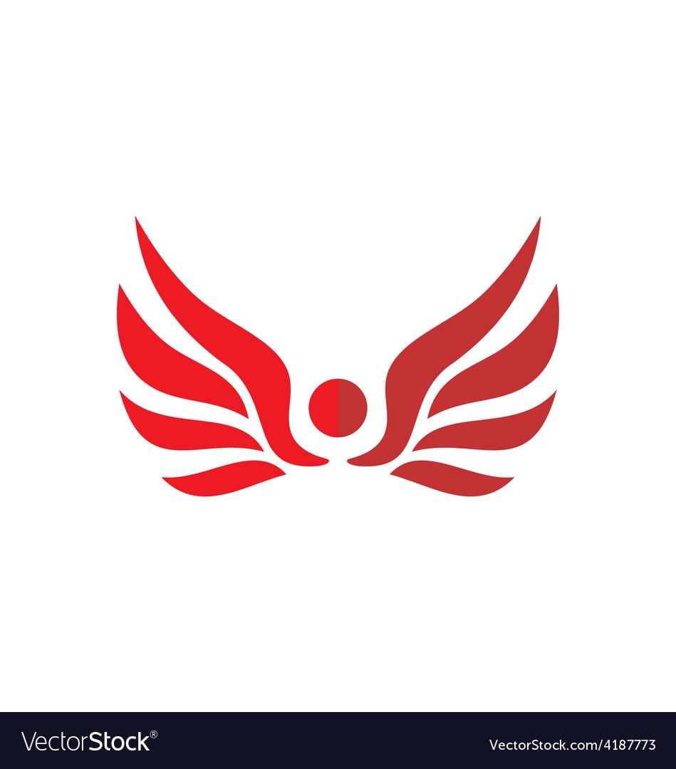 Red wing logo.