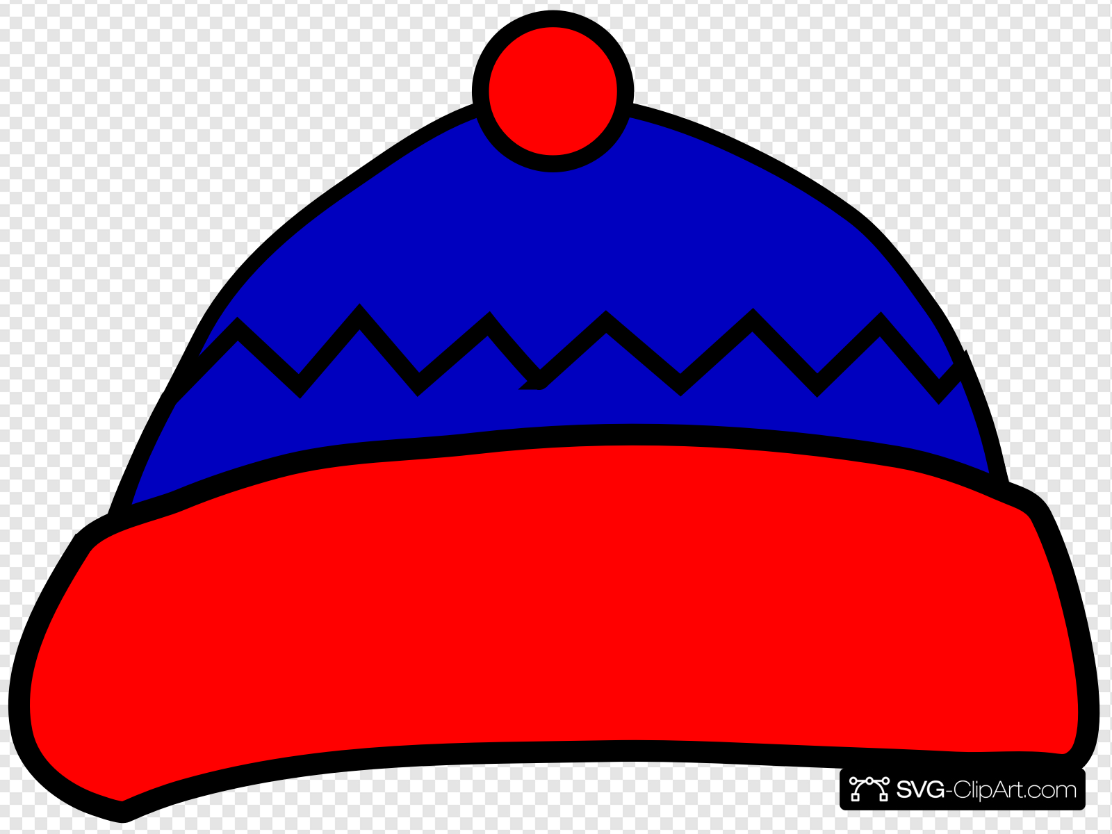Winter Hat Clip art, Icon and SVG.