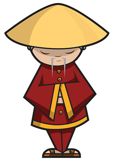 Chinese Wise Man Clip Art, Vector Images & Illustrations.