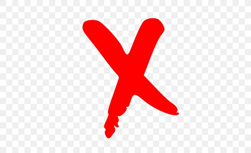 Red X X Mark Clip Art, PNG, 500x500px, Red X, Check Mark.
