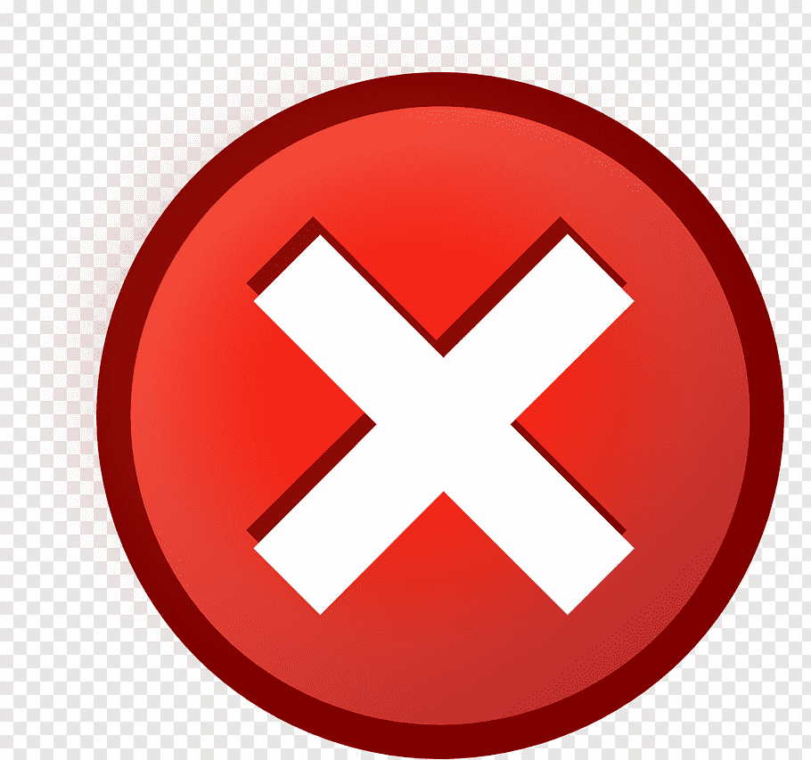 Red and white X logo, Computer Icons Button Check mark Cross.