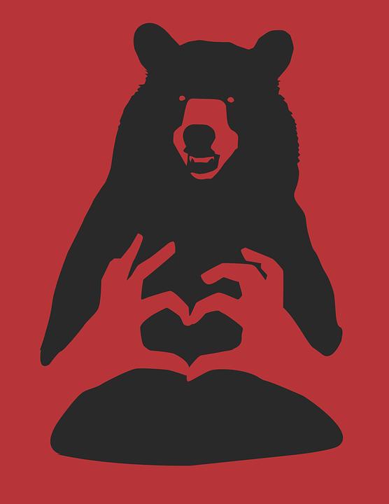 Red, Bear.