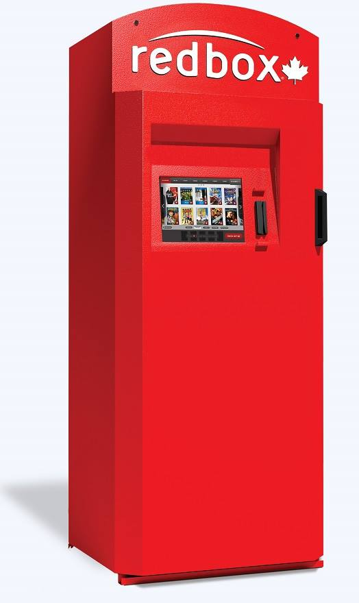 Movie Buffs Rejoice with Redbox Canada.