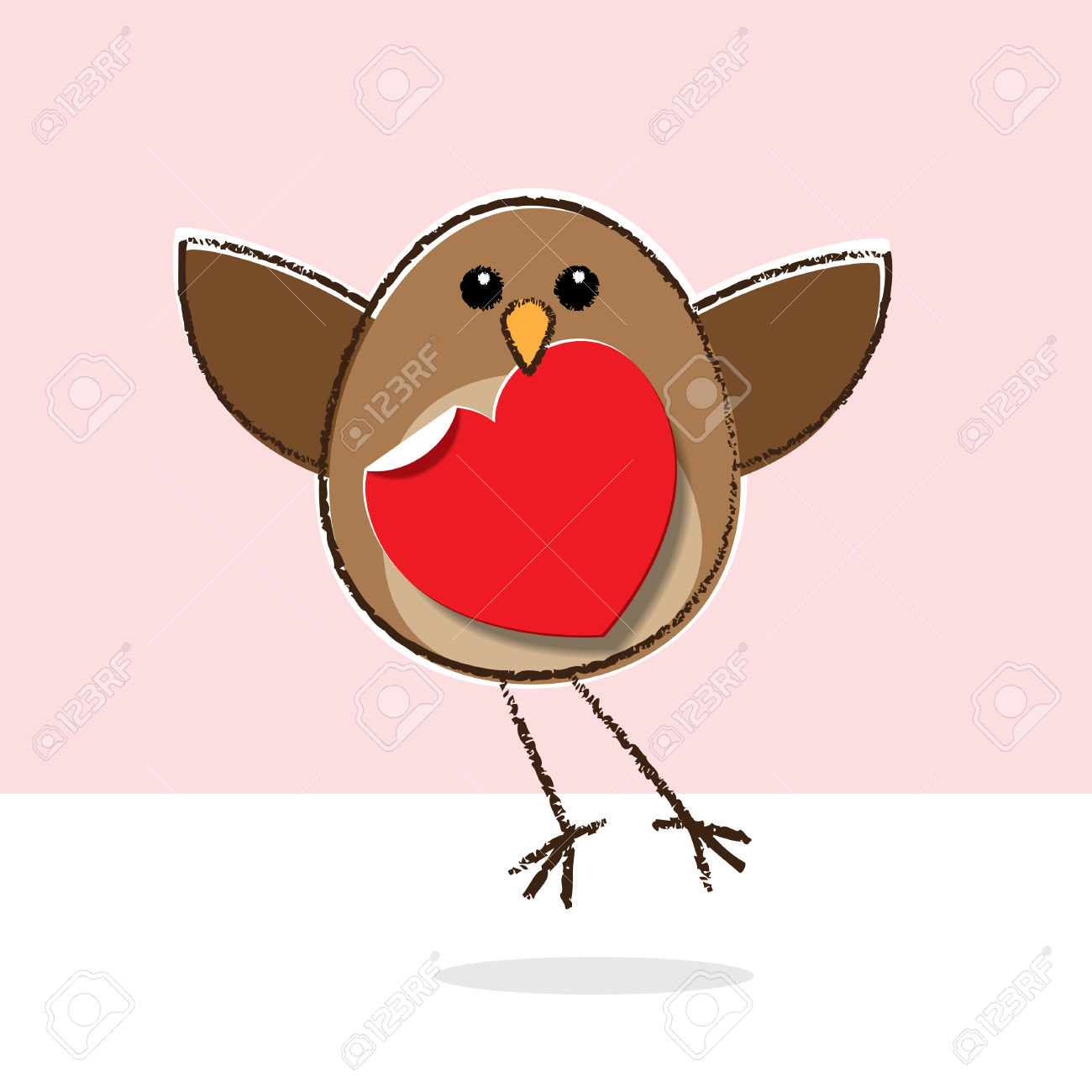 Clipart robin redbreast.