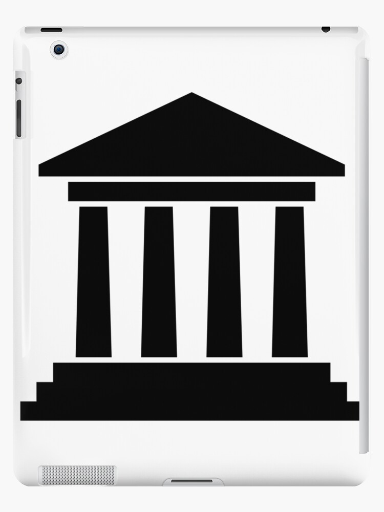 \'Courthouse Icon Clipart\' iPad Case/Skin by Dator.